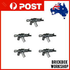 CUSTOM Bricks Submachine Guns 5PCS For Toy blocks Minifigures A8