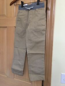 NWT Gymboree Boys Pull on Pants Tan Pants Outlet toddler and kids Many Sizes