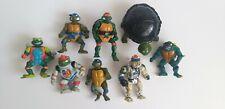 Teenage Mutant Ninja Turtles TMNT Playmates action figures Bundle