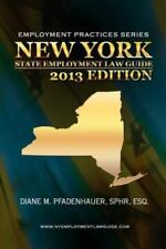 New York State Employment Law Guide (Paperback or Softback)