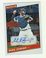2020 Optic RETRO 1986 SIGNATURES AUTOGRAPH MIKE ZUNINO Tampa Bay Rays AUTO