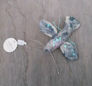 New Anthropologie  Thirdlee Lobster Felted Wool Christmas Ornament RRP £20