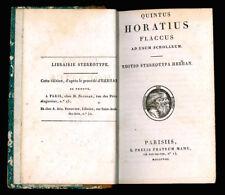 Quintus Horatius Flaccus ad usum scholarum.