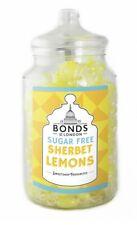BONDS SUGAR FREE - SHERBET LEMONS - 2KG JAR, TRADITIONAL BOILED SWEETS,