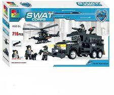 WOMA Swat Team Wasserwerfer und Hubschrauber