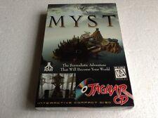 Atari Jaguar Cd Myst Sealed New Misb Collector Case !