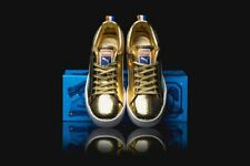 "Puma Walt ""Clyde"" Frazier Metallic Gold Sneakers Men's Size 11.5"