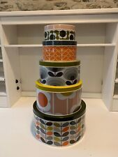 Orla Kiely Nesting Cake Tins - Set of 5 tins - New and Boxed - Free Delivery