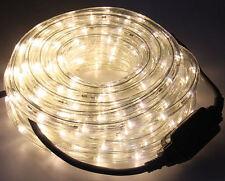 LED Lichterschlauch IP21 Weiß Dekoration Lichtschlauch Leuchte Kunststoff neu