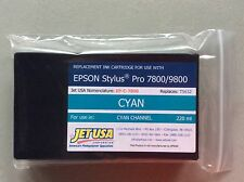 Eclipse Replacement 220ml Inkjet Cartridge Cyan for Epson 7800/9800