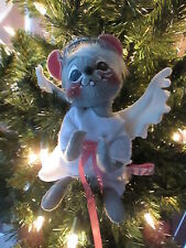 """Annalee Doll 7"""" Christmas Angel Mint Condition, Nmwot 1993"""