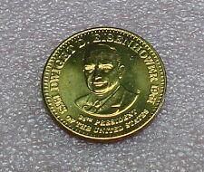 Dwight D. Eisenhower Presidential Bronze Token / Coin from Shell
