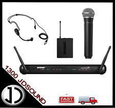 Shure SVX dual wireless microphone - headset PG30 and handheld PG58 NEW