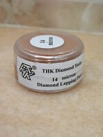 14 micron Diamantpaste 20g Polierpaste Glas Metall Schmuck Polieren Hochglanz