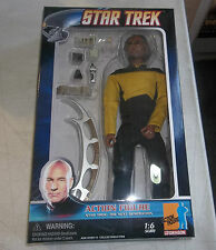 "Dragon 1/6 Scale 12"" Star Trek The Next Generation Lt. Worf Action Figure 73138"