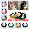 Women Velvet Cute Headband Alice Band Top Cross Knot Headband Twisted Hairband