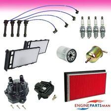 TK2013-11 : Fit 98-01 Nissan Altima L4 2.4L Tune Up Kit Filter Cap Plug Wire Set
