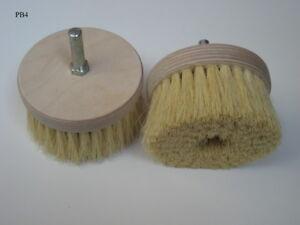 The Pine Drill Brush - Wax Polishing Buffing Drill Bit Attachment (PB4)