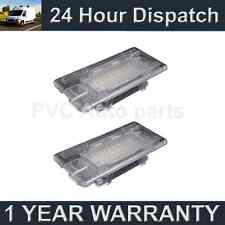 2x PER BMW SERIE 3 E90 E91 E92 E93 M3 2006-13 24 LED BIANCHI penetrazione del pavimento luci GLOVE