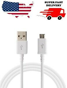 EXTRA LONG FAST ADAPTIVE CHARGING RAPID QUICK CHARGER CABLE MICRO FOR SAMSUNG