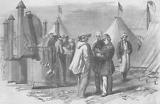 CRIMEAN WAR/UKRAINE. M. Soyer's Camp and Bivouac kitchen in the Crimea, 1855