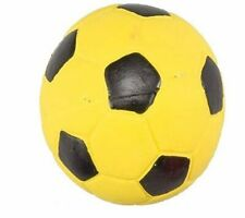 "Spot Ethical 2"" Yellow Latex Soccer Ball Mini - Small Dog Toy With Squeaker"