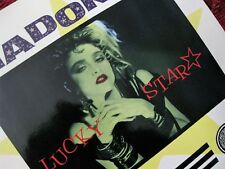 Madonna RARE Lucky Star TV SCREEN Glossy Sleeve EU ONLY Record Vintage First LP