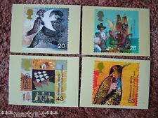 Set di SCHEDE PHQ TIMBRO N. 206 Coloni STORIA, 1999. 4 Scheda Set. ottime CONDIZIONI.