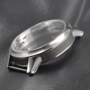 45mm CORGEUT Watch Sterile Case Fit ETA 6497 6498 Hand Winding Watches Movements
