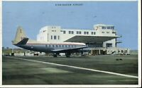 Airport Postcard BEA Viscount Birmingham Airport