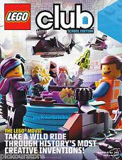 LEGO Club Magazine March April 2014 SCHOOL EDITION The Lego Movie Special Issue