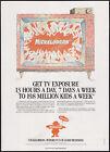 NICKELODEON__Original 1988 Trade Print AD / promo / poster__Nick TV licensing