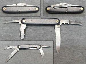 Altes Taschenmesser Klappmesser mit Dorn - Sammlermesser alt