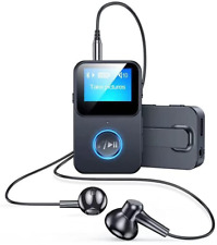 Mp3-Player Mit Bluetooth 5.0 Unterstützt TF Bis Zu 128 GB, CVC Noise Cancelling