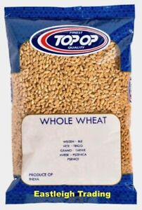 WHOLE WHEAT GRAIN 100% PURE AND NATURAL PREMIUM QUALITY INDIAN CROP *CHOOSE QTY*
