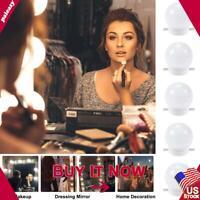 Makeup Mirror Lights 10/14 LED Kit Bulbs Vanity Light Dimmable Lamp Cosmetic USB