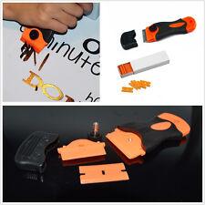 Professional 100*Plastic Double Edged Razor Scraper Blades & Scraper For Car SUV