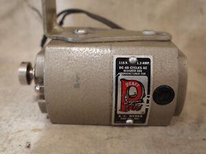 original PFAFF 1.3 amp Sewing Machine MOTOR * tested runs strong * vintage