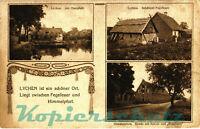 AK Lychen, Am Oberpfuhl, Schäferei Fegefeuer, Himmelpfort, 1919, 24/01