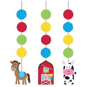 Farm Farmyard Farmhouse Fun Party Tableware, Decorations & Balloons