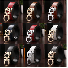 Men's/Woman's Leather Belts Designer Automatic Buckle Classic Belt UK