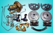 1967 -1969 Chevrolet Camaro power front disc brake conversion kit w/ hard lines