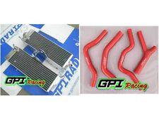 aluminum Radiator & HOSE FOR Honda CR500 CR500R CR 500R 1985-1888 1986 1987 86