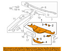 Chevrolet GM OEM 14-16 Corvette Interior-Roof-Header Trim 22826702