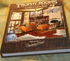 TROPHY ROOMS Around The World 7 by Sherman Hines Book Taxidermy Safari Big Game