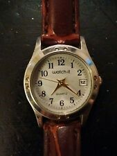 Vintage Watch-It ladies watch, running with new battery NR