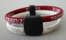 Trion Z Double Band  Magnetic Ionic Bracelet Red White Small New