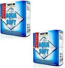 Thetford Aqua Soft 8 Toilet Rolls Quickly Dissolving paper For Chemical Toilets