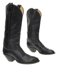TONY LAMA Cowboy Boots 6 A Womens Tall Buckaroo Leather Western Rodeo Boots USA