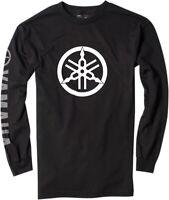 Factory Effex Licensed Yamaha Long Sleeve Shirt Black Mens All Sizes